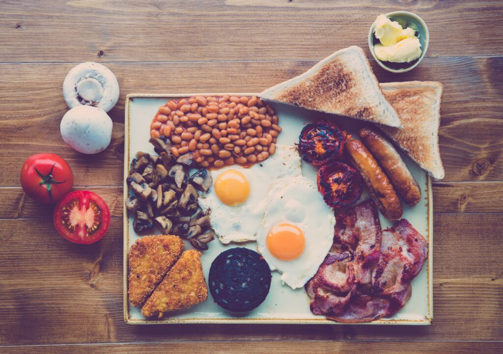 İngiliz Kahvaltılarının Vazgeçilmezi Black Pudding