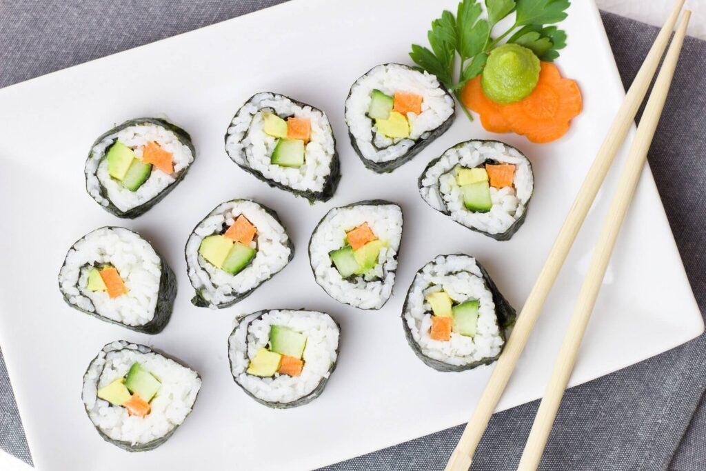 California roll, makizushi sushi çeşitleri